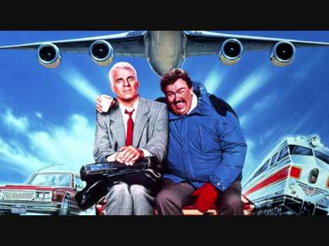 Planes, Trains, and Automobiles movie poster with Steve Martin and John Candy
